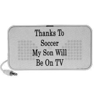 Los gracias al fútbol mi hijo estarán en la TV Altavoces