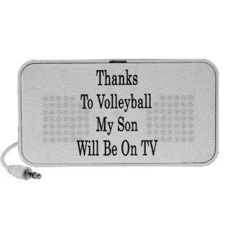 Los gracias al voleibol mi hijo estarán en la TV Altavoz