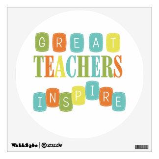 Los grandes profesores inspiran