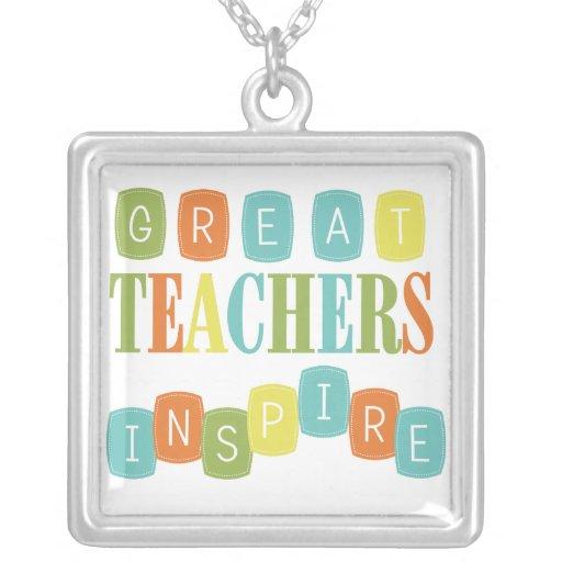 Los grandes profesores inspiran joyerias
