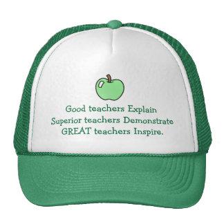 Los grandes profesores inspiran el gorra