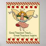 Los grandes profesores inspiran poster