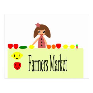 Los granjeros comercializan 2,0 51Z Tarjeta Postal