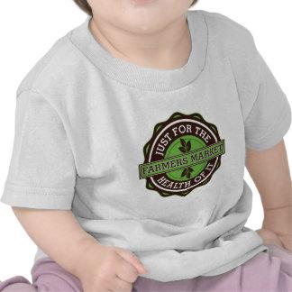 Los granjeros comercializan apenas para la salud d camiseta