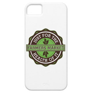 Los granjeros comercializan apenas para la salud iPhone 5 cárcasa