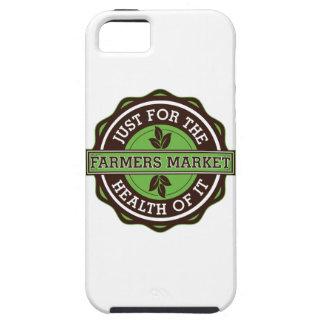 Los granjeros comercializan apenas para la salud iPhone 5 Case-Mate carcasas