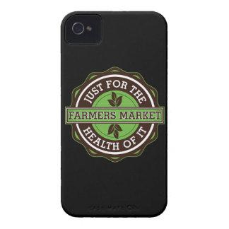 Los granjeros comercializan apenas para la salud iPhone 4 Case-Mate cárcasas