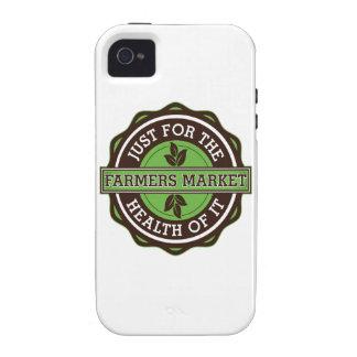 Los granjeros comercializan apenas para la salud vibe iPhone 4 fundas
