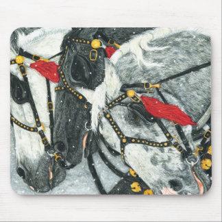Los grises - cojín de ratón del equipo de Perchero Alfombrilla De Ratones