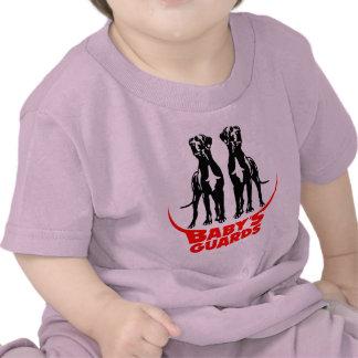 Los guardias del bebé camiseta