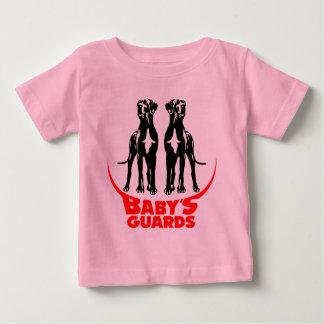 Los guardias del bebé playera de bebé