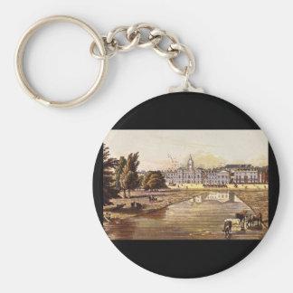 Los guardias y el Melbourne_Engravings de la casa Llavero Redondo Tipo Pin