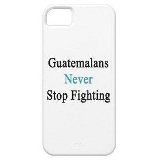 Los guatemaltecos nunca paran el luchar iPhone 5 Case-Mate protector