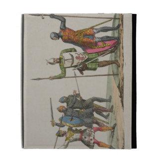 Los guerreros anglosajones, platean 14 'de la hist