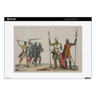 Los guerreros anglosajones, platean 14 'de la hist portátil calcomanía