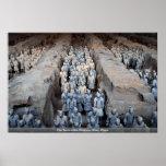 Los guerreros de la terracota, Xi'an, China Posters