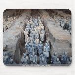 Los guerreros de la terracota, Xi'an, China Tapete De Raton