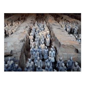 Los guerreros de la terracota, Xi'an, China Postal