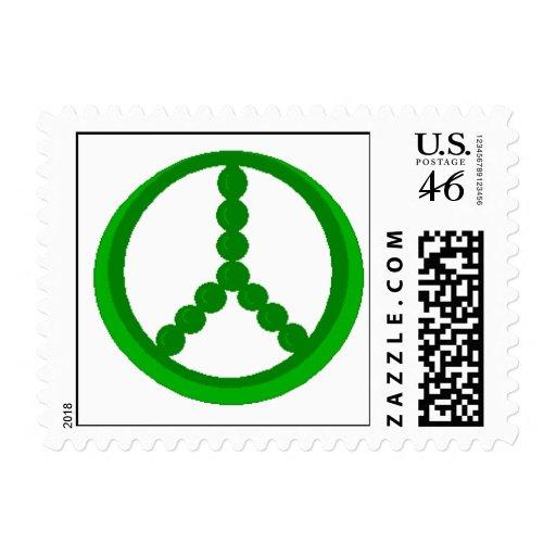 Los GUISANTES FIRMAN (blanco) - los sellos