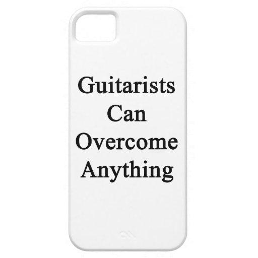 Los guitarristas pueden superar cualquier cosa iPhone 5 Case-Mate carcasas