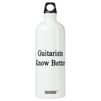 Los guitarristas saben mejor