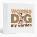 Los gusanos cavan mi jardín