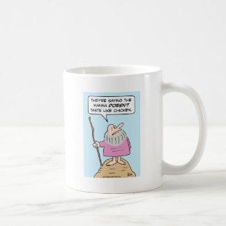 los gustos del maná de Moses tienen gusto del Taza De Café