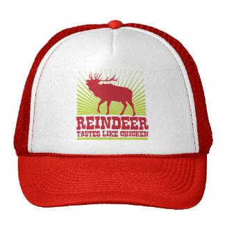 Los gustos del reno tienen gusto del pollo gorro de camionero