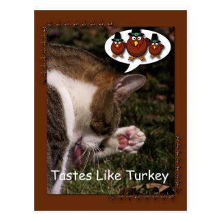 Los gustos tienen gusto de Turquía Postal