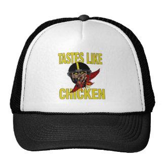 Los gustos tienen gusto del gorra del pollo