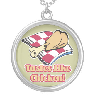 los gustos tienen gusto del pollo colgante redondo