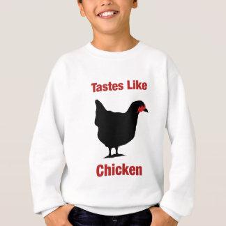 ¡Los gustos tienen gusto del pollo! Poleras