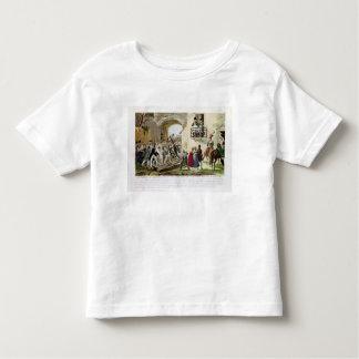 Los habitantes que depositan las puertas t shirt
