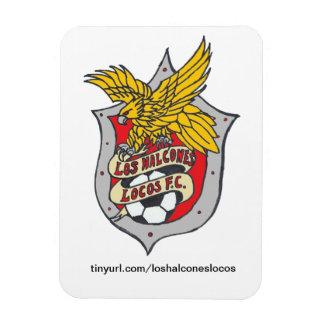 Los Halcones Locos FC - Fridge Magnet