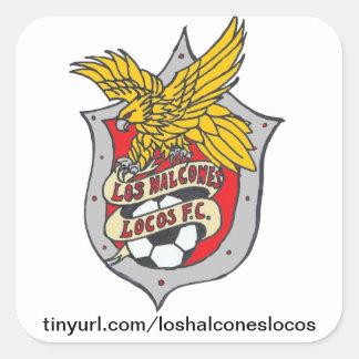 Los Halcones Locos FC - Sticker Square