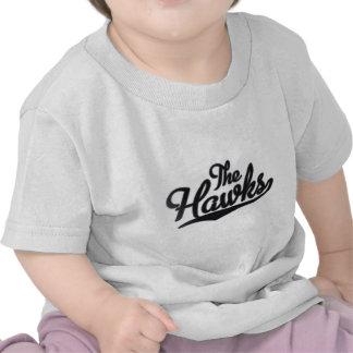 Los halcones - nombre de la mascota de la escuela camisetas