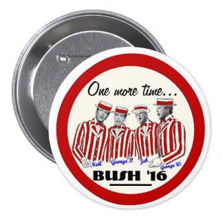 Los hermanos de Bush Pin Redondo De 3 Pulgadas