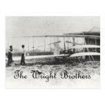 Los hermanos de Wright Postales