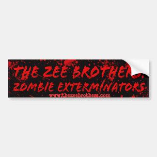 Los hermanos de Zee: Logotipo 1 de los Pegatina Para Coche