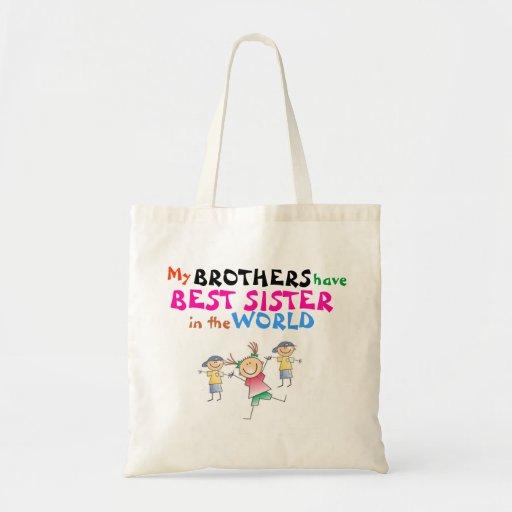 Los hermanos tienen mejor bolso de la hermana bolsa de mano