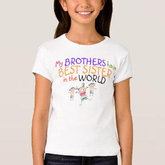 Los hermanos tienen mejor camisa de la hermana