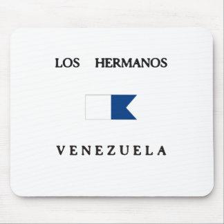 Los Hermanos Venezuela Alpha Dive Flag Mouse Pads