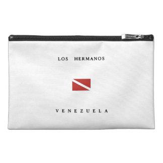 Los Hermanos Venezuela Scuba Dive Flag Travel Accessories Bag