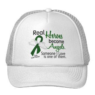 Los héroes hacen cáncer de hígado de los ángeles gorro de camionero