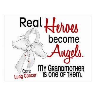 Los héroes hacen cáncer de pulmón de la abuela de tarjetas postales