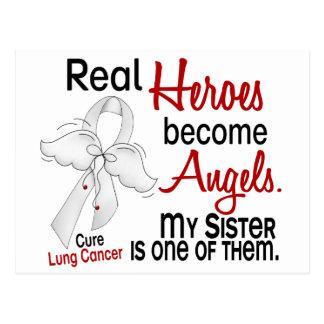 Los héroes hacen cáncer de pulmón de la hermana de postales