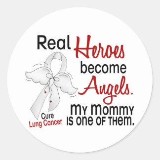 Los héroes hacen cáncer de pulmón de la mamá de lo etiquetas