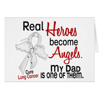 Los héroes hacen cáncer de pulmón del papá de los  tarjeta de felicitación