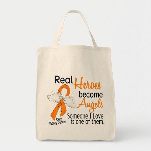 Los héroes hacen cáncer del riñón de los ángeles bolsa tela para la compra