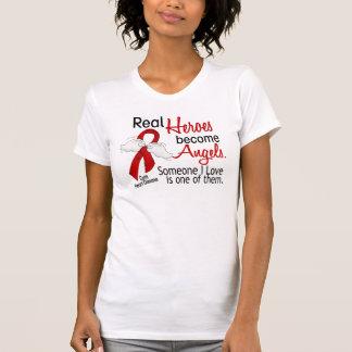 Los héroes hacen enfermedad cardíaca de los ángele camiseta